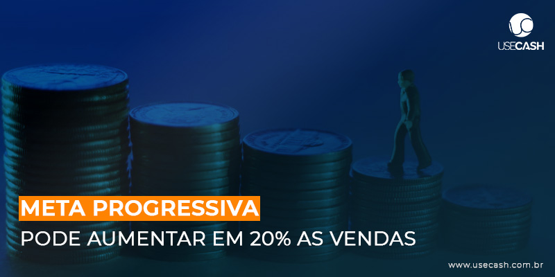 Meta Progressiva  pode aumentar 20% as vendas
